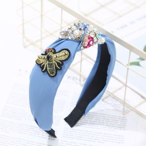 Butterslip Blue Bee Hairband, €19.95 https://bit.ly/2Hv43Uu