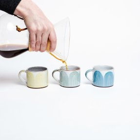 Irish Design Shop Caroline Dolan Ceramics Espresso Cups, €20 each https://bit.ly/3juCvMm