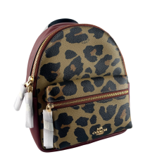 Designer Exchange Coach Leopard Mini Charlie Backpack, €129 https://bit.ly/34AD7fh