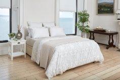 Foxford Filagree Duvet & Pillowcase Set, €95 https://bit.ly/3mxYROP