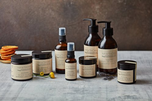 Hawthorn Handmade Skincare Luxury Bodycare Gift Box, €99 https://bit.ly/3e65HIr