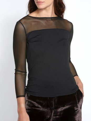 Helen McAlinden Mesh Black Top, €95 https://bit.ly/37PkuWY