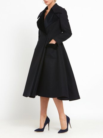 Helen McAlinden Monaco Navy Coat, €555 https://bit.ly/31NedHu
