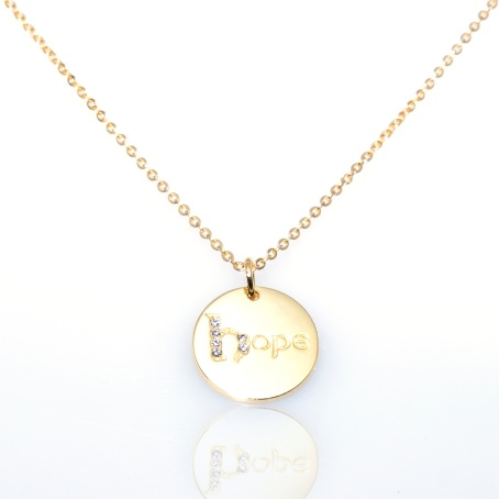 Jo Harpur Jewellery 'Dream', 'Hope' and 'Love' Necklaces, €65 each https://bit.ly/2FigVg3