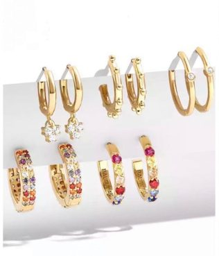 Lady Lorna Designer Emporium Huggy Rainbow Hoops (set of 5), €25 https://bit.ly/34rUX3I