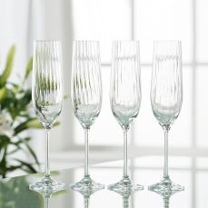 Meadows & Byrne Galway Crystal Erne Flute Glasses (Set of 4), €19.95 (was €39.95) https://bit.ly/3omultb