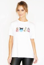 Pamela Scott Perfume Printed T-shirt, €25.99 https://bit.ly/37DvuGy