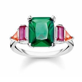 Weir & Sons Thomas Sabo Colourful Stones Ring, €119 https://bit.ly/3oz3Hgt