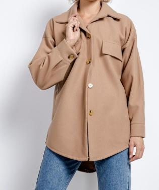 Virgo Boutique Caroline Camel Thick Overshirt, €25.99 https://bit.ly/3dT48xq