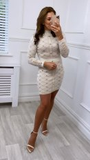 Virgo Boutique Charmaine Latte Knitted Midi Dress, €45.99 https://bit.ly/2TqZb5o