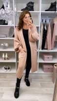 Virgo Boutique Lia Pink Longline Cardigan, €35.99 https://bit.ly/35zQBXI