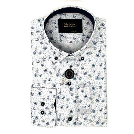 EJ Menswear 6th Sense Floral Print Shirt White, €59.50 (was €79.95) https://bit.ly/35YXjqj