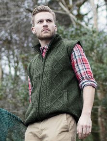 Aran Sweater Market Windproof Aran Style Bodywarmer, €76.69 (was €94.60) https://bit.ly/363Di23