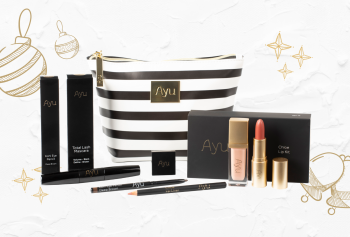 Ayu Cosmetics Chloe's Bright Eyes & Lips Set, €67.50 https://bit.ly/3mWfVOJ