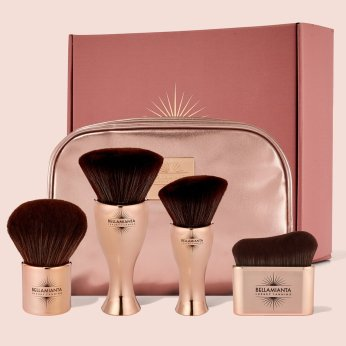 Bellamianta Luxury Tanning Brush Collection, €82.99/£74.99 (was €109.51/£98.95) https://bit.ly/2Iavi7n