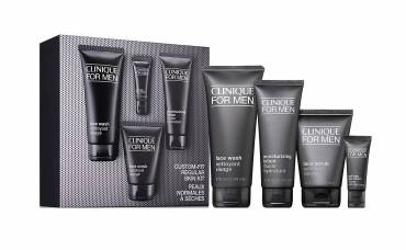 Brown Thomas Clinique for Men Daily Essentials Set for Regular Skin Gift Set, €90 https://bit.ly/3mXJShA