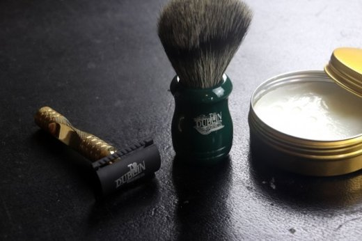 Manly Stuff Dublin Shaving Co Beginner Shaving Set, €49.99 (was €89) https://bit.ly/2I1lr3r