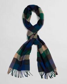 Diffney Gant Multi Check Wool Scarf, €65 https://bit.ly/3kP61xG