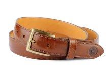 Holden Leathergoods Chestnut DB2 Dress Belt, €78 https://bit.ly/362PaS6