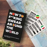 Gadget Man How to Swear Around the World Card Game, €10 https://bit.ly/2TNTO0w