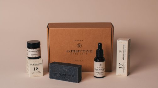 Oxmantown Skincare Men's Skincare Facial Kits, from €42 https://bit.ly/3l23tMK