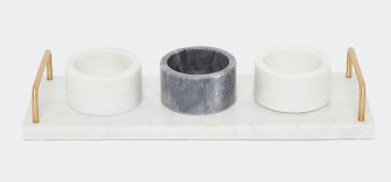 Dunnes Stores Paul Costelloe Living Marble Pinch Pot, €29.51 https://bit.ly/3jVAzN1