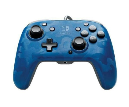 My Memory PDP Faceoff Deluxe+ Audio Wired Controller Blue Camo (Nintendo Switch), €26.44 (was €28.74) https://bit.ly/2I3yhhL