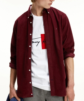 EJ Menswear Tommy Hilfiger Fex Corduroy Shirt Rouge, €87.96 (was €109.95) https://bit.ly/34OY7ik