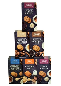 West Cork Biscuit Co. Mixed Sampler Case of 6 Packets, €22 https://bit.ly/3mJcqv0